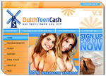 Dutch Teen Cash