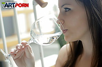 Hot angel gets fucked in this glamour porn photo set